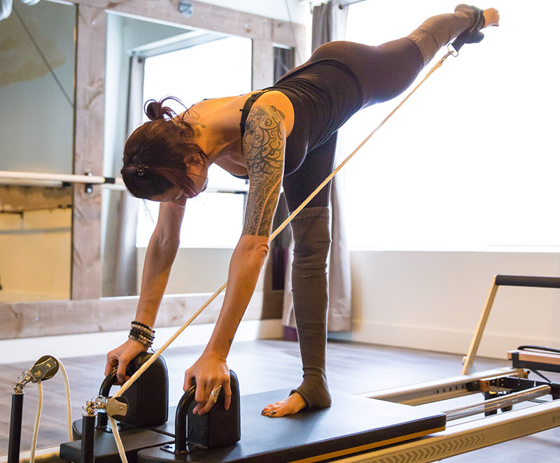 Pilates Reformer at Yoga Bodies